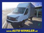 VW Crafter 35 Pritsche MR TDI Komfortpaket/Klima bei HWS || AUTOHAUS WINKLER GmbH in